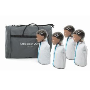Laerdal Little Junior QCPR piel oscura (4 unidades)