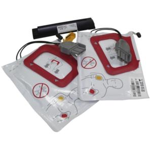 Physio-Control CHARGE-PAK Quickpak Batería de carga y dos juegos de electrodos