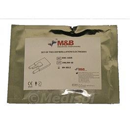 M&B AED 7000 electrodos